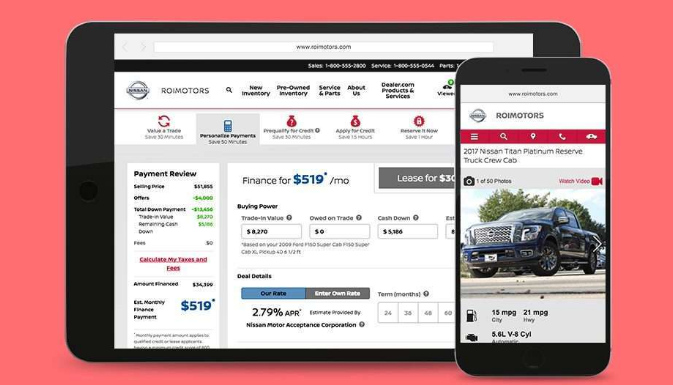 cars e-commerce platform