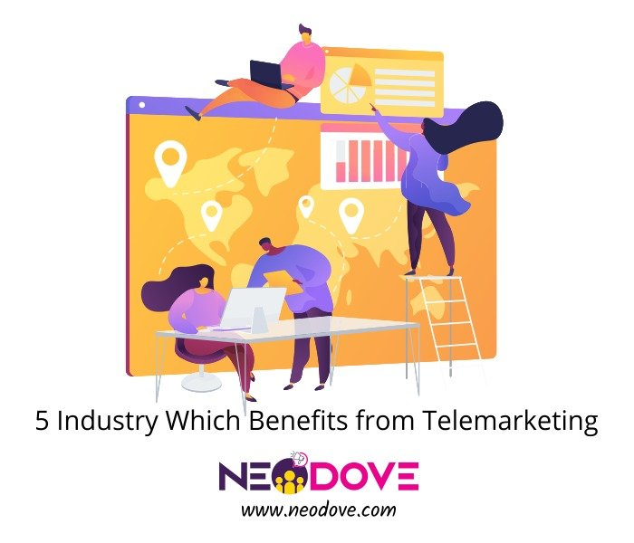 5 Industry Which Benefits from Telemarketing
