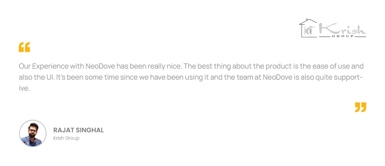 NeoDove Testimonial_PC_Krish_01
